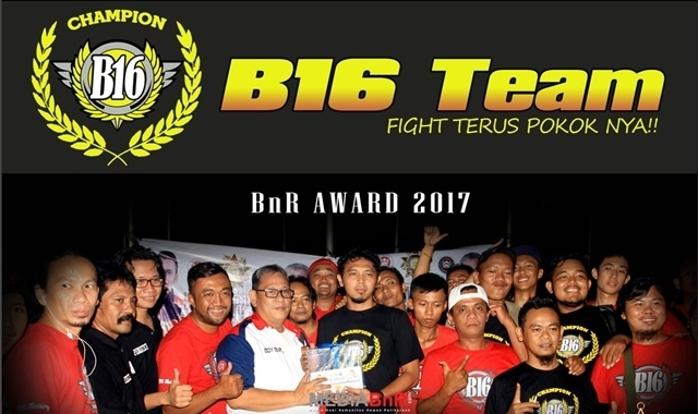 Ji Sadat : Terima Kasih Kepada Team dan Sahabat Yang Telah Meraih Kemenangan Bersama di BnR Award 2017