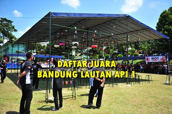 Daftar Juara Bandung Lautan Api 1 – Lap. B (36 Gantangan)