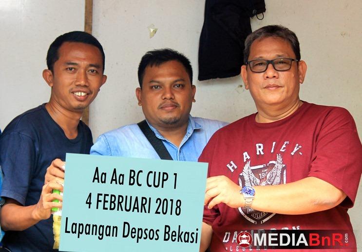 Bang Boy Akan Sapa Kicaumania Bekasi di AA AA BC Cup 1