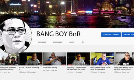 Channel Youtube Bang Boy BnR Informasi BnR