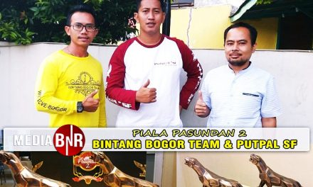 Kolaborasi Bintang Bogor Team & Putpal SF di Piala Pasundan 2