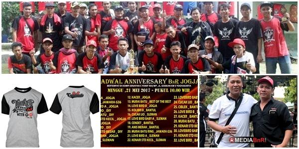 Anniversary BnR Jogja Siap Dibanjiri Pemain Lintas Kota & Lintas Pulau