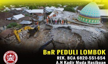 BnR Peduli Lombok