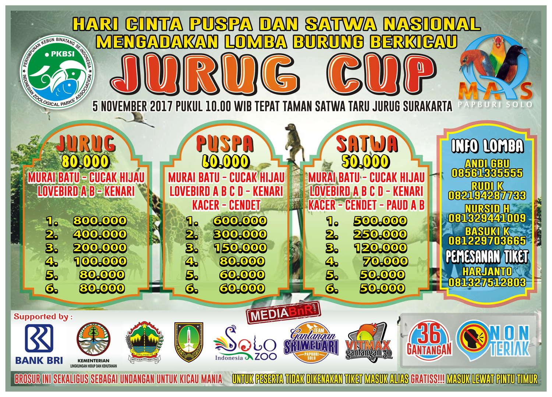 brosur JURUG CUP SOLO