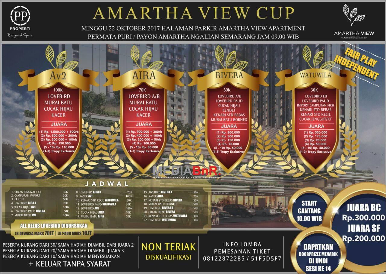 brosur amartha view cup semarang