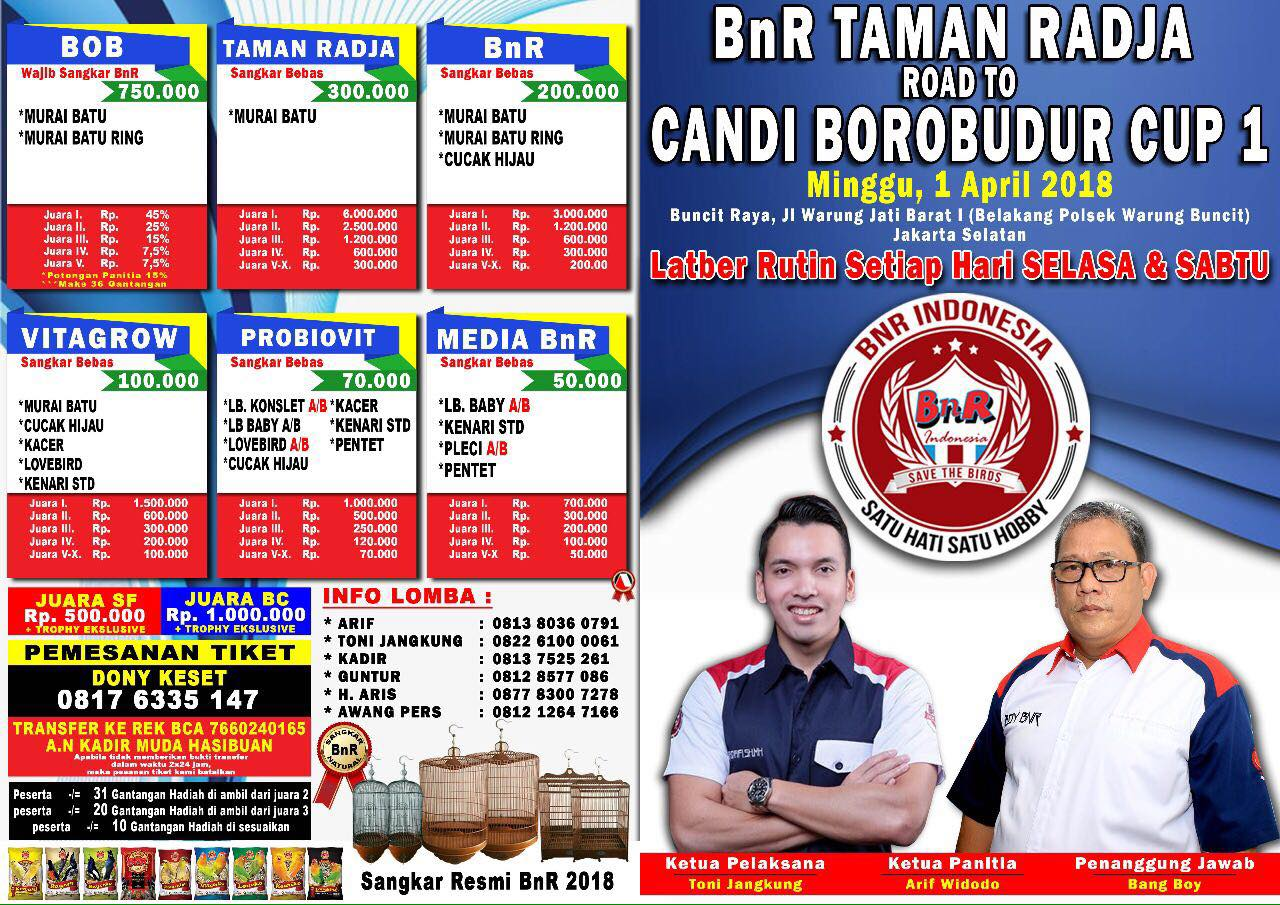 Taman Radja kembali ke Pangkuan BnR
