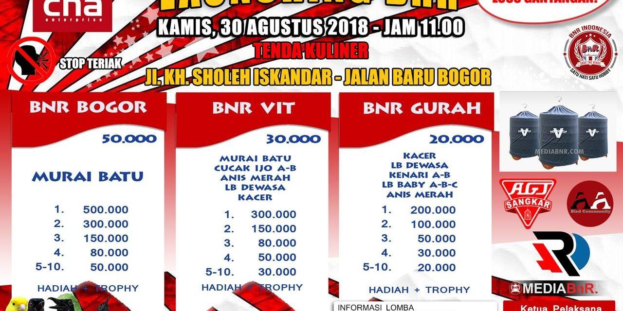BnR Bogor Loss Gantangan Setiap Kamis