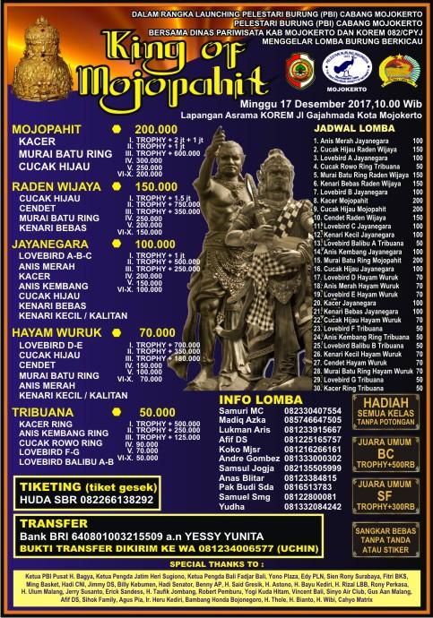 brosur king of mojopahit