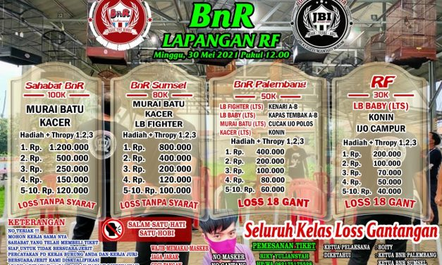 Latber Spesial BnR Di Kota Palembang