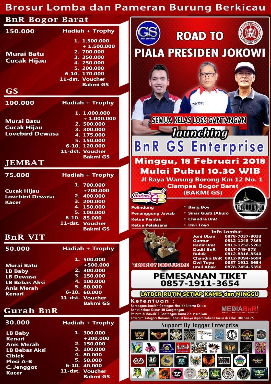 brosur launching GS ENTERPRISE
