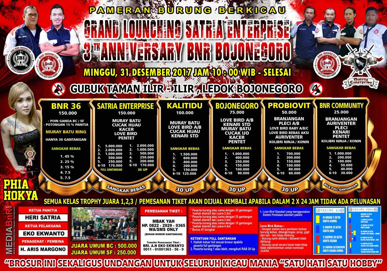 brosur launching satri enterprise bojonegoro