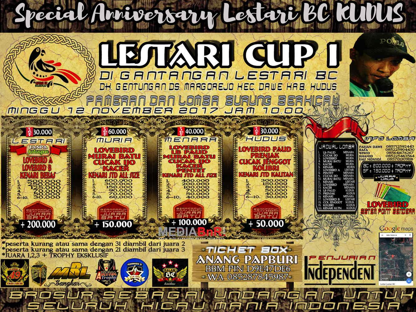 brosur lestari cup 1 12 nov 2017