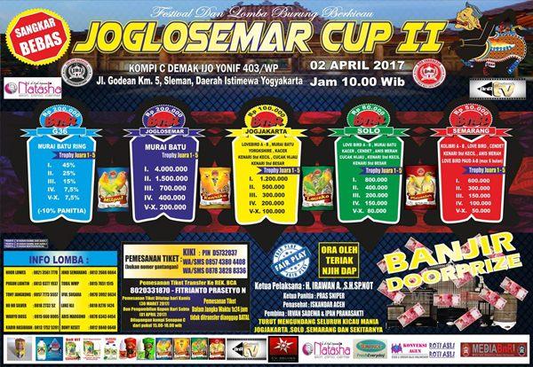 Dua Tahun Menepi, Lomba Joglosemar Siap Tayang 2 April 2017 di Kota Jogja