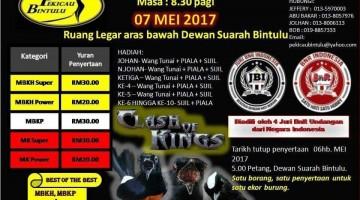 brosur lomba burung kicau pekicau bintulu serawak 7 mei 2017