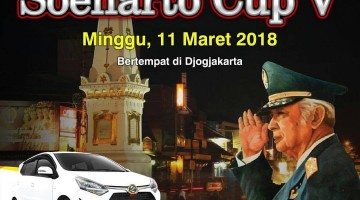 brosur lomba burung kicau soeharto cup 5, 11 maret 2018