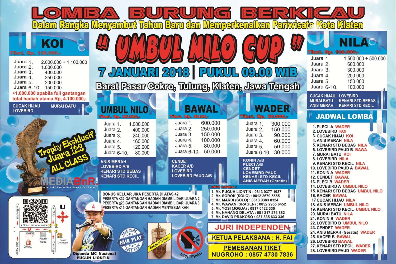 brosur lomba umbul-umbul nilo cup klaten