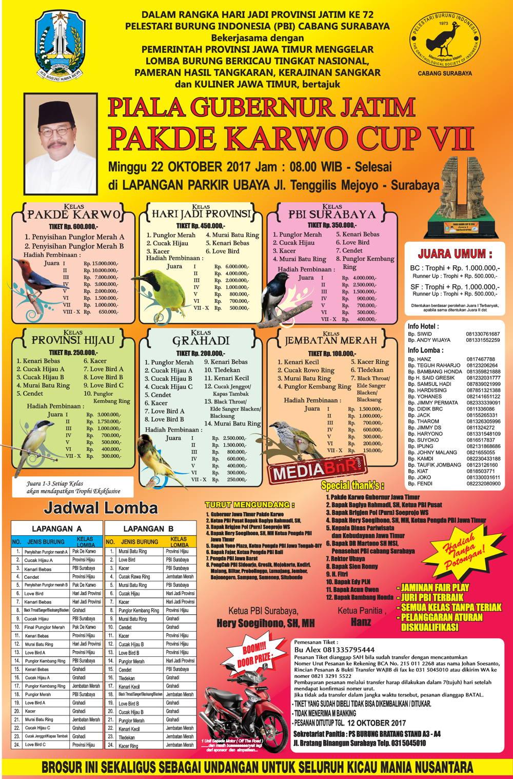 brosur pak de karwo 22 oktober 2017