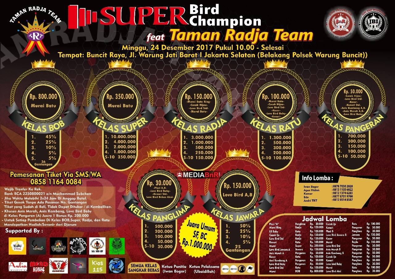 brosur taman radja super bird champion