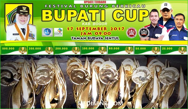 Silaturahmi Kicaumania di Bupati Cup – Taman Budaya