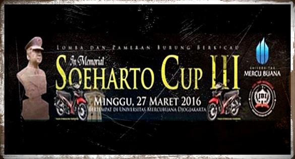 Sueharto CUP III, Ajang Silaturahmi dan Kopdar Kicau Mania Indonesia