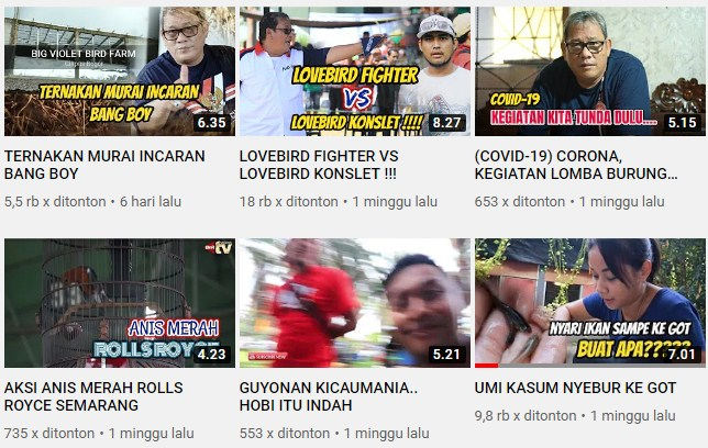 Antrian Panjang Di Channel Youtube Boy BnR