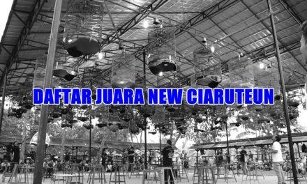 Daftar Juara New Ciaruteun (23/2/2019)