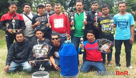 Usman Team, LB Lembang dan KKLB…Top Di Kelas Lovebird