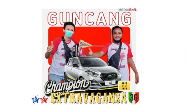 GUNCANG SANG JAWARA PIALA EXTRAVAGANZA