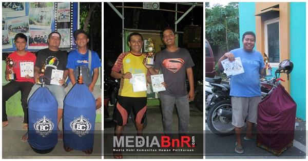 Lala, King PK & Badai Raih Juara di Latber Lindu Aji BC