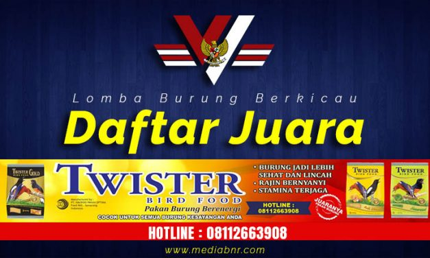 Daftar Juara Festival Tanah Jawara – Serang (30/8/2020)
