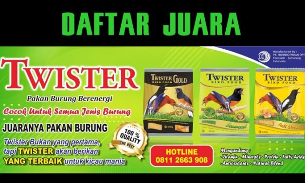 Daftar Juara Latber Galon Enterprise (14/3/2020)