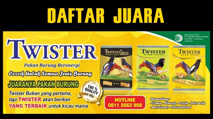 Daftar Juara Latber Bonafide 99 Fans Semarang (23/9/2020)