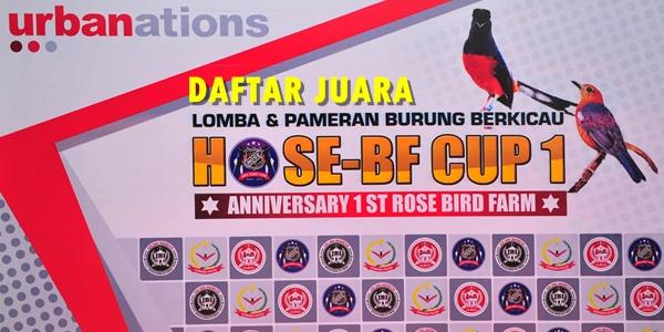 Daftar Juara Hose Bf Cup Jambi