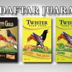 Daftar Juara Bird Champion Palembang (10/11/2019)