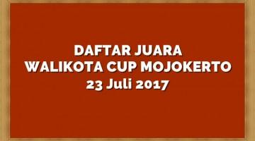 daftar juara walikota cup mojokerto