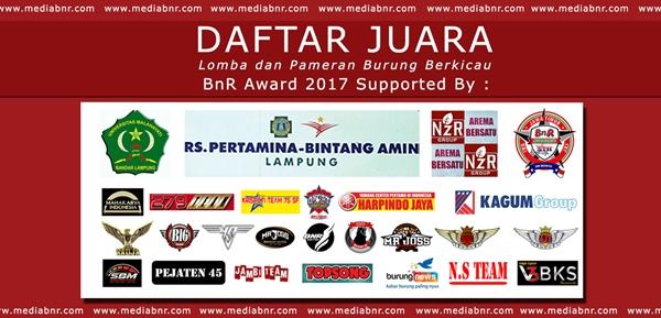 Daftar Juara Anniversary PMTI 2017 Keradenan Purwokerto