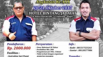 diklat juri bnr indonesia jabodetabek