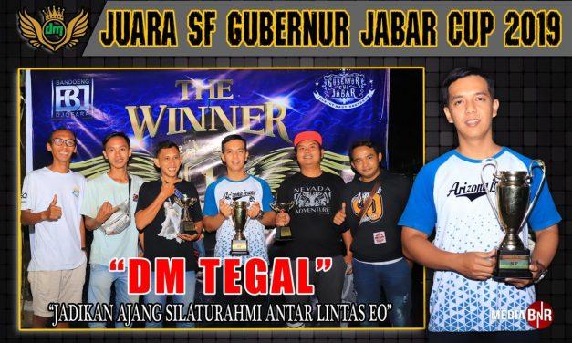 DM TEGAL SF Raih Juara Single Fighter di Gubernur Jabar Cup