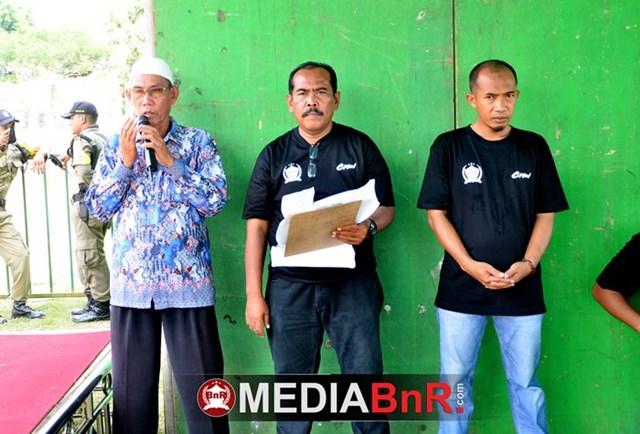 doa dipanjatkan agar event Bupati Cup Pesawaran II berjalan lancar