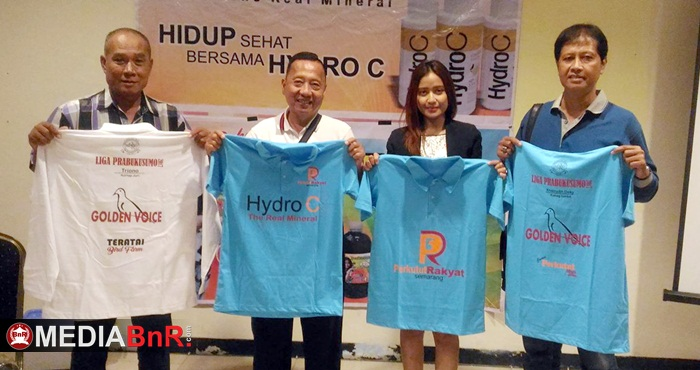 Golden Voice Feat Hydro C Support Penuh Liga Perkutut Prabukusumo