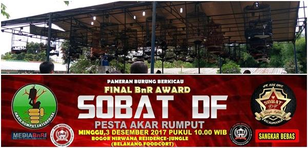 Usai gelar 3rd Anniversary ATS Bogor Bersama Sobat DF, Kembali Gelar Final Road To BnR Award 3 Desember 2017