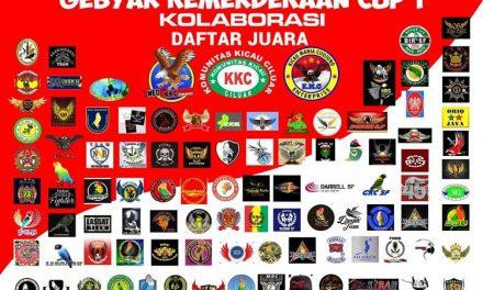 Daftar Juara Gebyar Kemerdekaan 1 – Lap. KKC (18/8/2018)