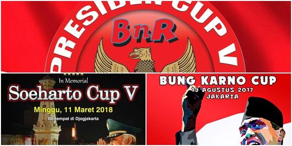 2018, 3 Presiden Tajuk Lomba BnR Indonesia