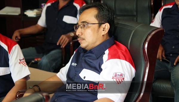 H. Mansur ketua harian BnR Indonesia (Foto:Imul-abak)