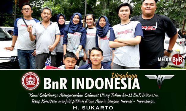 H Sukarto SKR Cicurug : Selamat Ulang Tahun BnR Indonesia Ke-11
