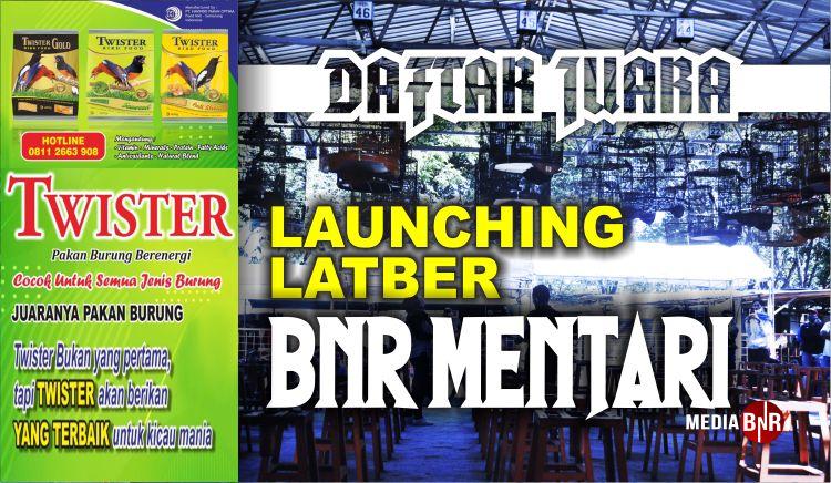 DAFTAR JUARA LAUNCHING BnR MENTARI (02/07/2020)