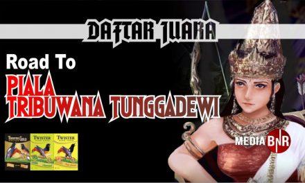 DAFTAR JUARA ROAD TO PIALA TRIBUWANA TUNGGADEWI (12/01/2020)