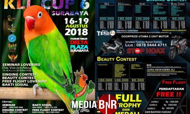 KLI Cup Surabaya VI Inginkan Yang Terbaik