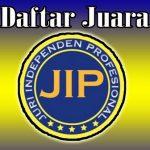 Daftar Juara Latpres Bogor Enterprise JIP (08/12/2019)