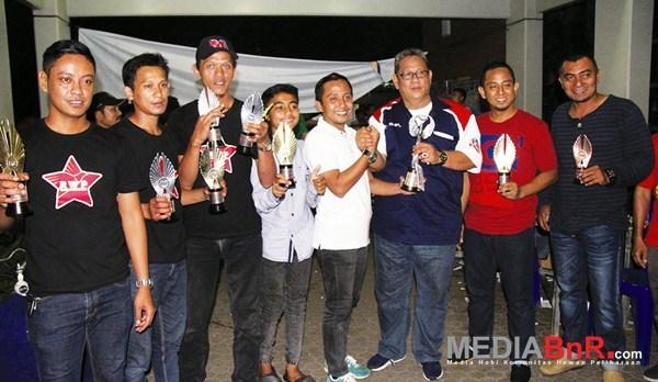 juara umum BC bersama Bang Boy